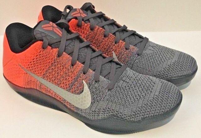 bcda09fcc54 Nike Zoom Kobe XI 11 Elite Low Easter Shoes Bright Mango Grey Sz 11 ...