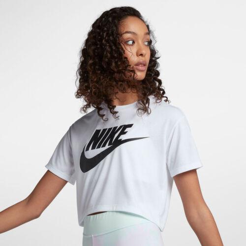 Essential Essential blanco Nike de recortada 883418730963 corta gimnasio de manga Camiseta nuevo yoga L pxwB8aHqff