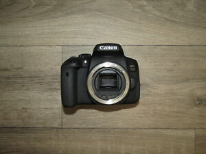 Canon-EOS-750D-24-2MP-Digital-SLR-Camera-Body-UNTESTED-Spares-Repairs-Parts