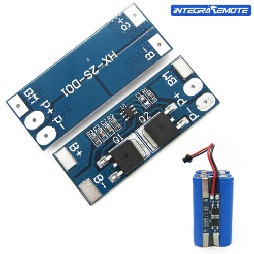 1//2//5//10PCS 18650 Lithium Battery 2S 8A Balance BMS Charger Protection Board New