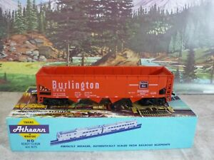 Athearn-1754-Burlington-40ft-4-Bay-Open-Hopper-Car-1-87-HO