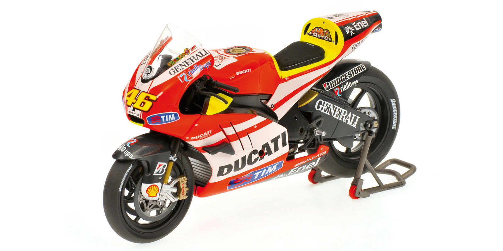 Ducati Desmosedici Valentino Rossi Valencia Press Version 2011 1 12 Model
