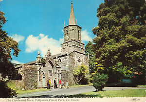 Clanbrassil Barn, Tollymore Forest Park, Down, N.Ireland Lovely Postcard (1980).