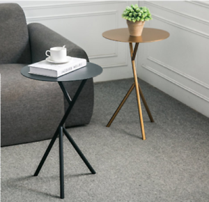 Details About Nordic Gold Simple Oval Mini Coffee Table Sofa Corner Side Table