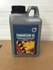 GENUINE VOLVO MANUAL GEARBOX OIL 1 LITRE 31280771 M56 M66 ... Raising Oil Volvo V50