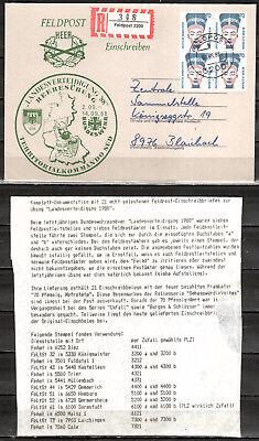 Brd 21 Bundeswehr Feldpostbriefen Gelaufen (europa :6010)