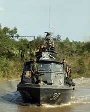 "U.S. Navy Fast Patrol Craft Cai Ngay Canal 8""x 10"" Vietnam War Photo Picture #28"