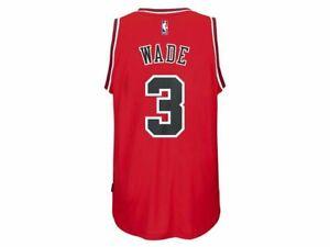 Details about Chicago Bulls Youth Boys Dwyane Wade #3 adidas NBA Swingman Jersey - Red