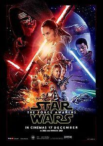 Daisy Ridley v11 Star Wars The Last Jedi Episode VIII Movie Poster 24x36