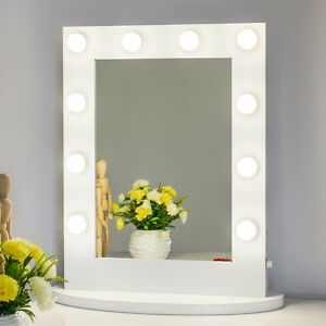 Vanity mirror with light hollywood makeup mirror wall for Miroir led ikea