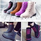 2016 New Fashion Womens Ankle Boots Fur Winter Warm Thicken Shoes Snow Boots