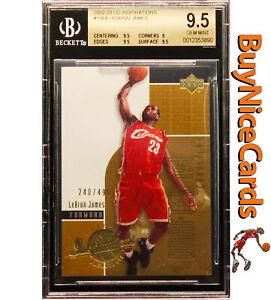 2002-03-Lebron-James-Upper-Deck-UD-Inspirations-XRC-RC-Rookie-BGS-9-5-Pop-21