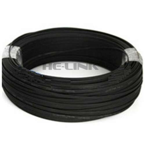 50M LC-LC Outdoor Armored 10G OM3 MM 4 Strands Fiber Optic Cable Patch Cord