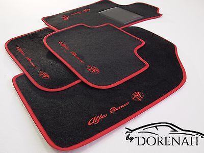 Tappetini Alfa Romeo Mito bordi personalizzabili no original 10