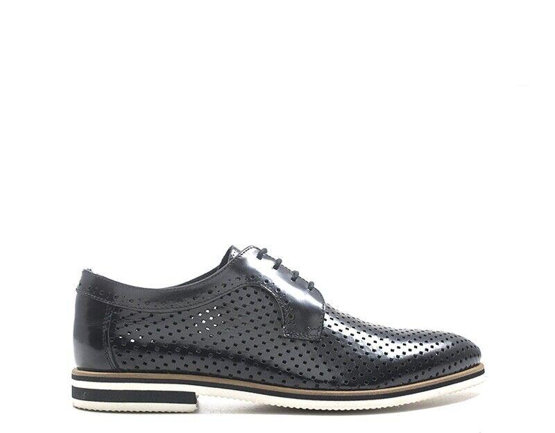 zapatos BALDININI hombres Stringate  negro Pelle naturale UE7107P00ABRA0000