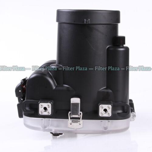 40 M Bajo El Agua Impermeable Carcasa de cámara caso para Olympus Om-d E-m1 12-40mm Lente