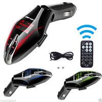 Wireless Car kit mp3 player fm transmitter fm modulator USB SD LCD MMC Remote TF