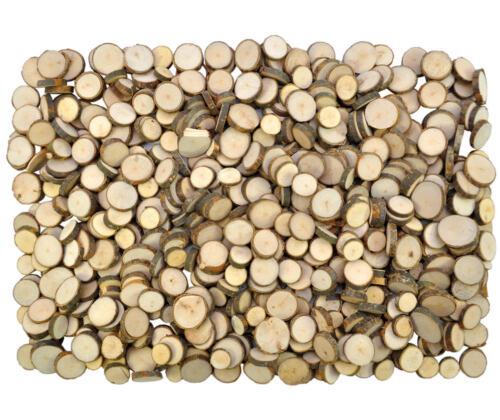 ASTSCHEIBEN 1kg Floristik Bastellscheiben Naturholzscheiben Holzscheiben XL NEU