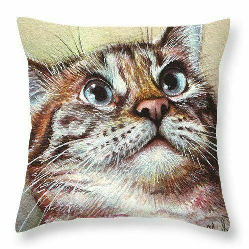 Pillowcase Cute Animal Pattern Home Cotton Linen Throw Sofa Cushion Cover Decor
