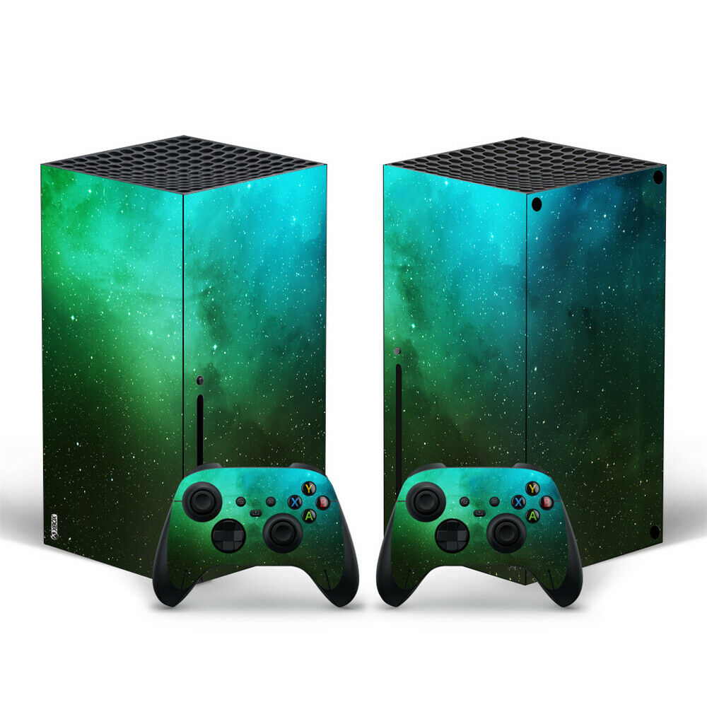Decor Cover For Xbox Series X Console and 2 Controller Sticker For Xbox Series X