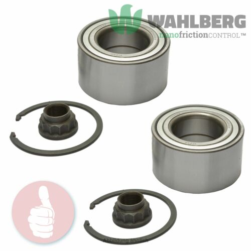 2 x Original WAHLBERG Radlager Radlagersatz WB96054 Vorderachse