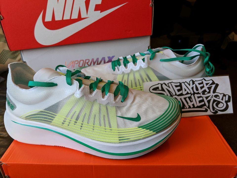 NikeLab Nike Zoom Fly SP Hong Kong White Lucid Green Summit Oregon AJ9282-101