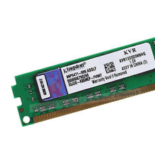 New Kingston 4GB PC3-10600U DDR3 1333MHz CL9 240Pin DIMM KVR1333D3N9/4G SDRAM