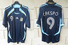 Maillot ARGENTINE ARGENTINA ADIDAS CRESPO shirt jersey WORLD CUP 2006 vintage XL