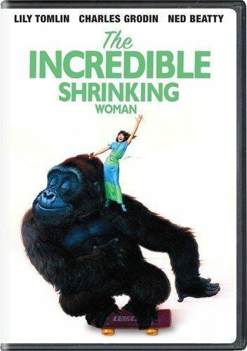 New! The Incredible Shrinking Woman DVD - Lily Tomlin Charles Grodin Ned Beatty