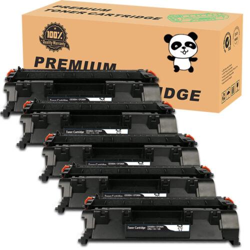 5PK CF280A 80A Black Laser Toner Cartridge for HP LaserJet Pro 400 M401n M425dne