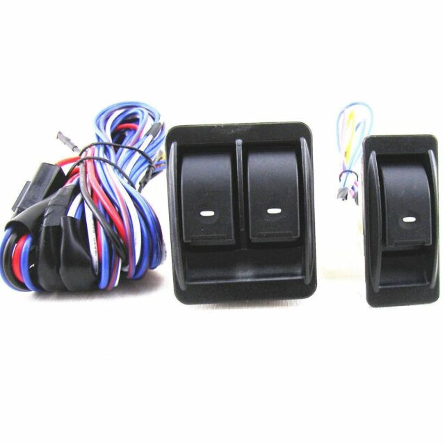for Dodge RAM 1500 2500 3500 Power Window Switch Kit With Wire Harness on