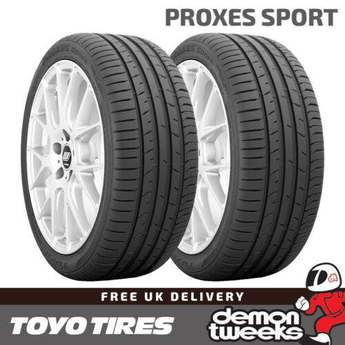 2254018 2 x 225//40//18 92Y XL Toyo Proxes Sport Performance Road Car Tyres