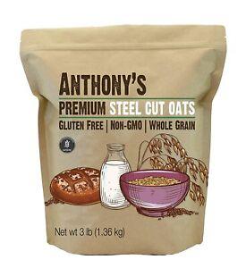 Anthony's Premium Steel Cut Oats, Gluten Free, Irish ...