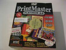 PrintMaster Platinum 8.0 new DVD Broderbund