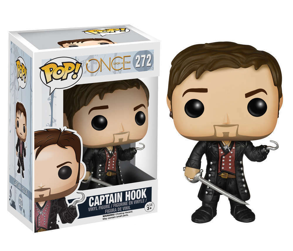 FUNKO POP CAPTAIN HOOK 272 ONCE UPON A TIME FIGURE KILLIAN JONES CAPITAN UNCINO