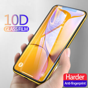 For-IPhone-X-XS-MAX-XR-8-7-6-10D-Full-Cover-Real-Tempered-Glass-Screen-Protector