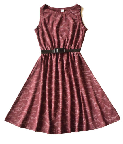 Girls Kids New tie /& dye Print party Sleeveless Skater  dresses 5 to 13 Years