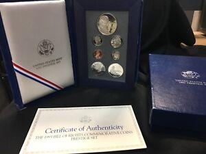 1993-Bill-of-Rights-Commemorative-Coins-Prestige-Set-with-COA