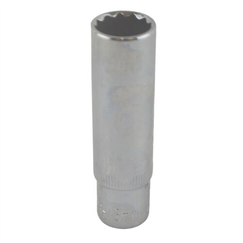 """13mm 3//8/"""" Drive Double Deep Metric Socket Double Hex 12 Sided"""