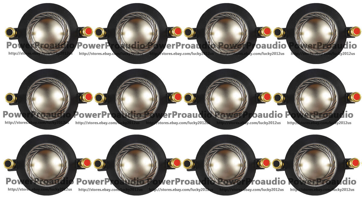 12pcs Aftermarket Tweeter Diaphragm For Harbinger ASP12 ASP15  - Fits Many