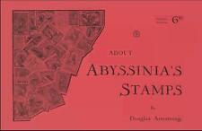 ABOUT ABYSSINIA'S STAMPS 1894-1930 Ethiopia Ethiopie ID Forgery Short Guide - CD