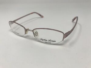 Sophia-Loren-Eyeglass-Frames-M182-METALLIC-PURPLE-Metal-Zyloware-51-18-135-T636