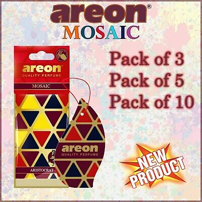 3x,5x,10x Areon MOSAIC Car & Home Long Lasting Air Freshener Amazing NEW SCENTS
