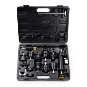 Goplus-18pcs-Radiator-Pump-Pressure-Cooling-Leak-Tester-Kit-Cap-Pump-Thermometer