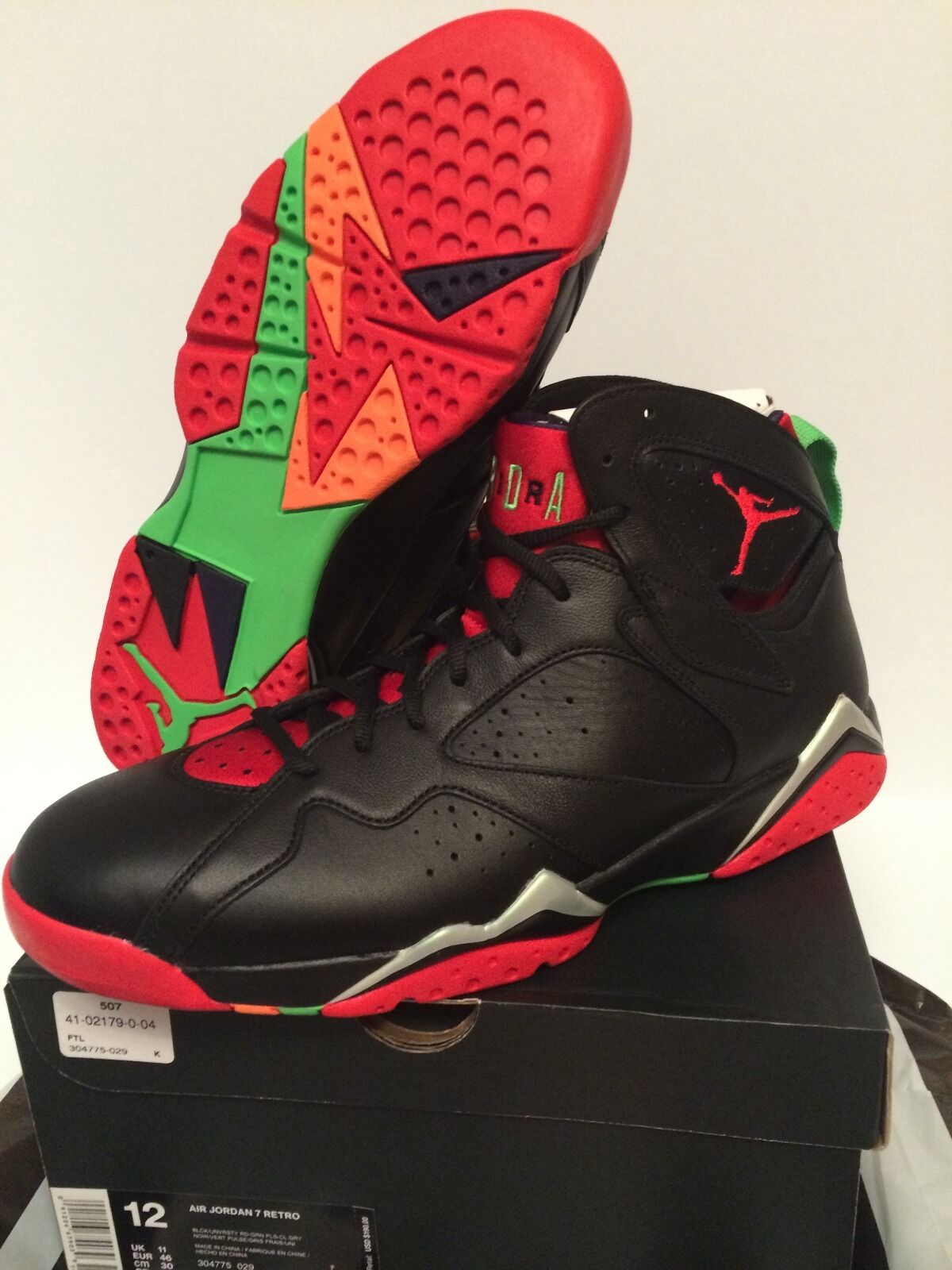 Air the Jordan Retro 7 Marvin the Air Martian Size 12 DS 100% authentic w/receipt in pic d66c66