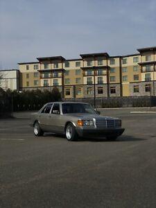 Mercedes w126 300sd 1983