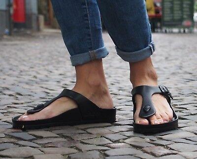 BIRKENSTOCK GIZEH EVA Black Fußbett Sandaletten Schwarz