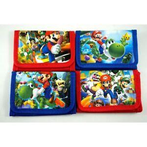 NEW-Super-Mario-Bros-Children-039-s-Kids-Boys-Girls-Coins-Bag-Wallet-Purse-Gift