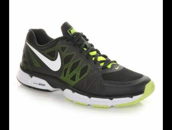 NIB Men's Nike Dual Fusion Tr 6 Running Cross Trail Vigor Kanadia shoes BlackVlt