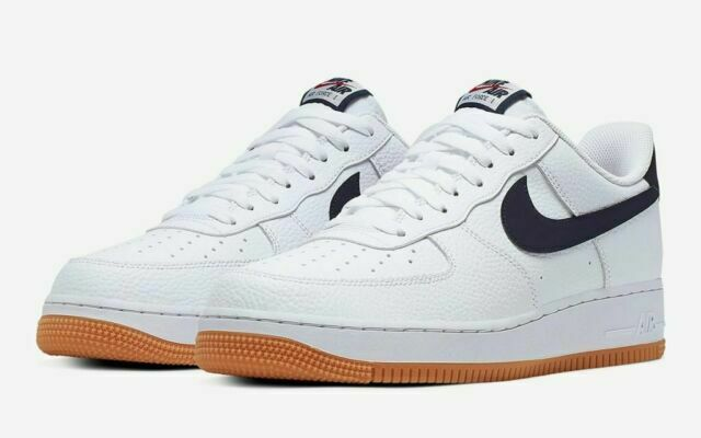 Size 10 - Nike Air Force 1 Low Obsidian Gum for sale online | eBay